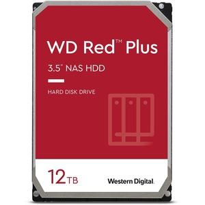 WD Red Plus WD120EFBX 12 TB Hard Drive - 3.5inInternal - SATA (SATA/600) - 7200rpm