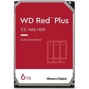 WD Red Plus WD60EFZX 6 TB Hard Drive - 3.5inInternal - SATA (SATA/600) - Conventional Mag