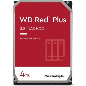 WD Red Plus WD40EFZX 4 TB Hard Drive - 3.5inInternal - SATA (SATA/600) - Conventional Mag