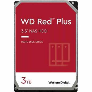 WD Red Plus WD30EFZX 3 TB Hard Drive - 3.5inInternal - SATA (SATA/600) - Storage System D