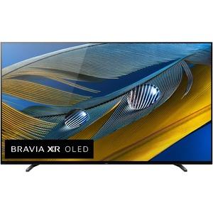 Sony BRAVIA XR A80J XR55A90J 54.6inSmart OLED TV - 4K UHDTV - Titanium Black - Google Ass