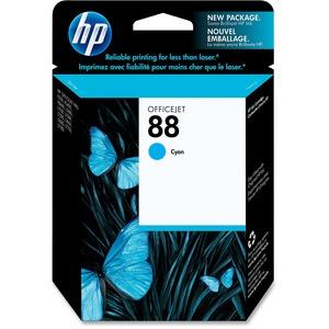 HP INC. - INK 88 CYAN INK CARTRIDGE F/OFFICEJET PRO K550 SERIES EAS