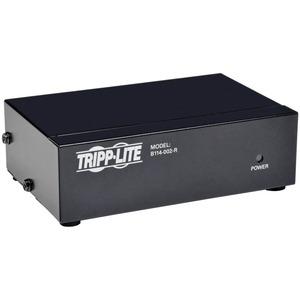 TRIPP LITE VGA/SVGA 350MHZ VIDEO SPLITTER 2PORT HD15 M/2XF
