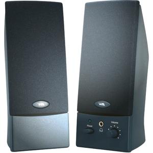 Cyber Acoustics CA-2011WB 2.0 Speaker System   4 W RMS   Black