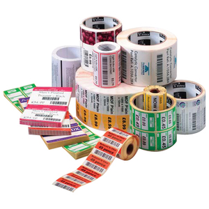 Zebra Label Paper 4 x 4in Direct Thermal Zebra Z-Perform 2000D 3 in core 10000292