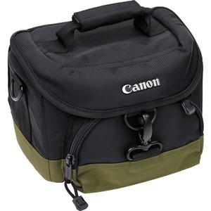 Canon 100-EG Custom Gadget Bag - 7inx 9.5inx 5.5in- Black-Olive