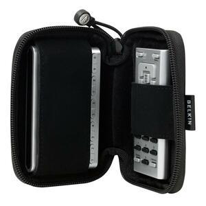 Belkin Carrying Case Satellite Radio - Black - MicroFiber