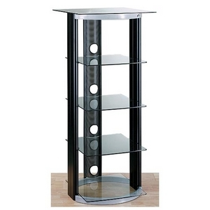AT-2567 Two-Tone A/V Stand