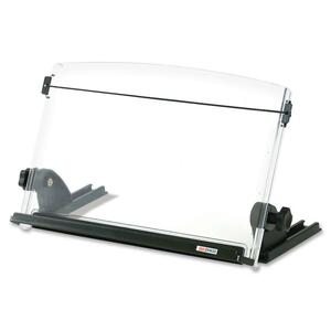 3M In-Line Adjustable Compact Document Holder - 14inWidth - Clear
