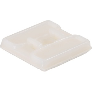 Cables To Go Cable Tie Mount - Natural - 25 Pack(43047)