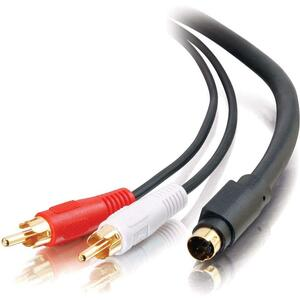 C2G 6ft Value Series S-Video + RCA Stereo Audio Cable