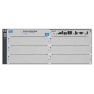 HPE ProCurve 5406zl Manageable Layer 3 Switch - 4 Layer Supported - Rack-mountable