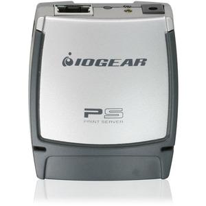 IOGEAR GPSU21 Print Server - 1 x 10/100Base-TX Network-1 x USB 2.0 - 100Mbps