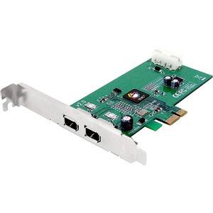 SIIG NN-E20012-S2 2-port FireWire PCI Adapter - 2 x 6-pin IEEE 1394a FireWire External - P