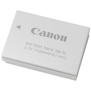 Canon NB-5L Lithium-Ion Digital Camera Battery - Lithium Ion (Li-Ion) - 3.7V DC