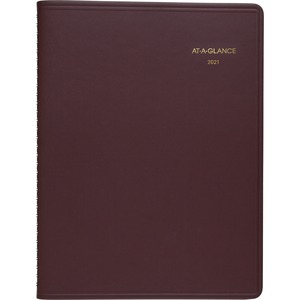 At-A-Glance Monthly Planner - Monthly - 1 Year - January 2020 till December 2020 - 1 Month Double Page Layout - 6 7/8