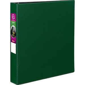 avery reg h311 15 gn avery durable binders with slant rings 1 1 2
