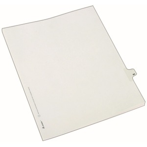82280 avery individual legal exhibit dividers allstate style 1