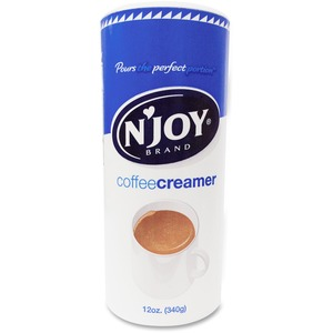 Njoy NJoy Nondairy Creamer - Regular Flavor - 0 75 lb (12 oz) Canister -  1Each
