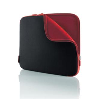Belkin F8N047EABR Notebook Case - Neoprene, Foam - Jet, Cabernet