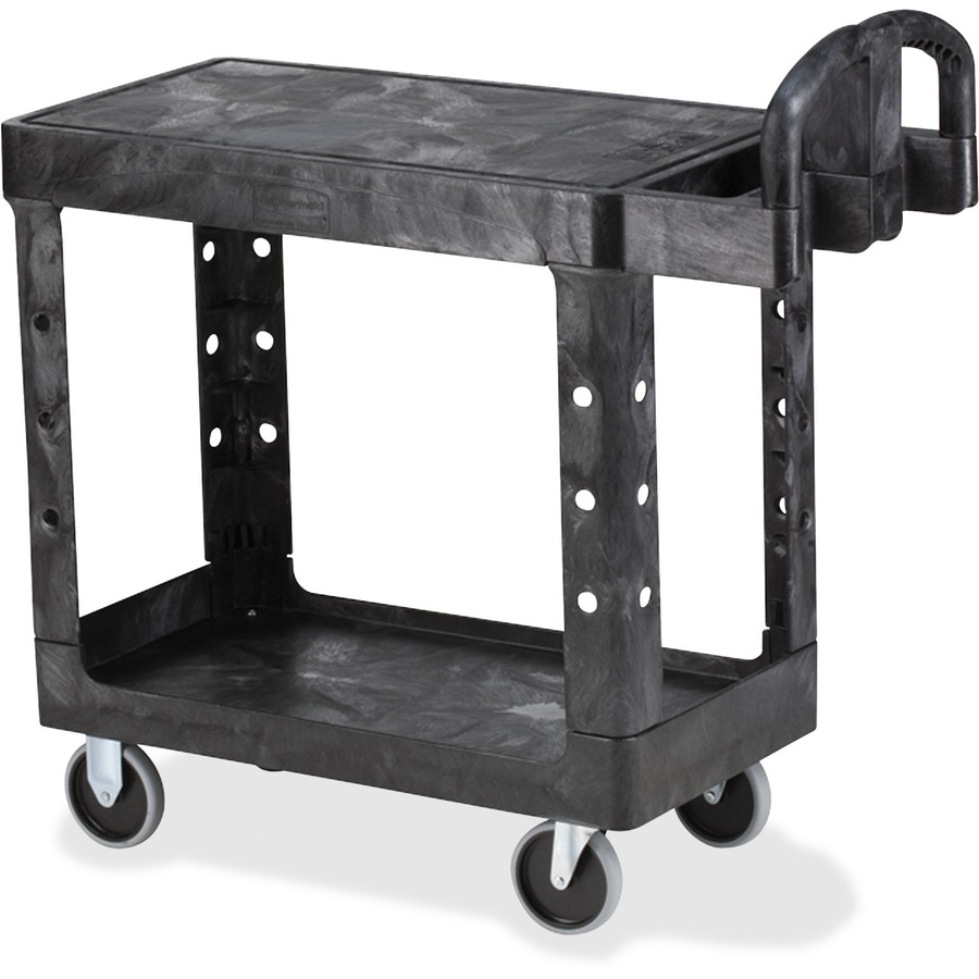 Wholesale Rubbermaid Hd Flat Shelf Utility Cart Rcp450500bk