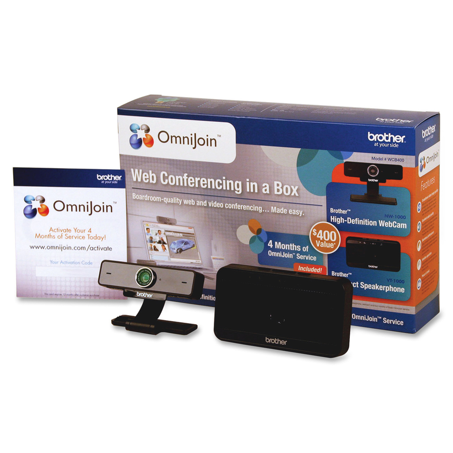 Brother Video and Audio Conferencing