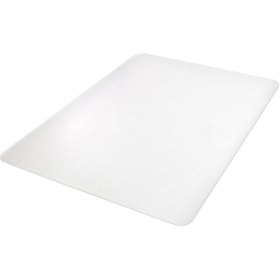 Llr69707 Lorell Hard Floor Rectangler Polycarbonate Chairmat Hard Floor Vinyl Floor Tile Floor Wood Floor 53 Length X 45 Width X 0 13 Thickness Rectangle Polycarbonate Clear Office Supply Hut