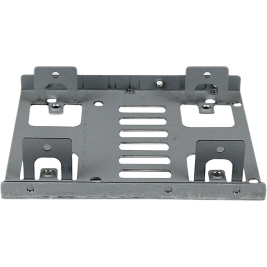 StarTech.com Dual 2.5inch to 3.5inch HDD Bracket for SATA Hard Drives - 2 Drive 2.5inch to 3.5inch Bracket for Mounting Bay - 2 x Total Bay - 2 x 2.5inch Bay