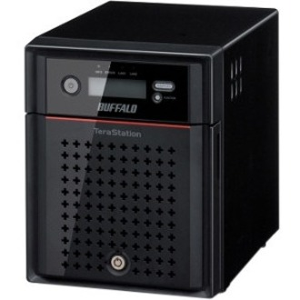 Buffalo TeraStation TS4400D 4 x Total Bays NAS Server - Desktop - Intel Atom D2550 Dual-core 2 Core 1.86 GHz - 8 TB HDD - 2 GB RAM DDR3 SDRAM - Serial ATA/300 - RA