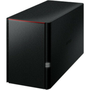 Buffalo LinkStation 220 2 x Total Bays NAS Server - External - Marvell ARMADA 370800 MHz - 4 TB HDD 2 x 2 TB - 256 MB RAM DDR3 SDRAM - Serial ATA/300 - RAID Suppor