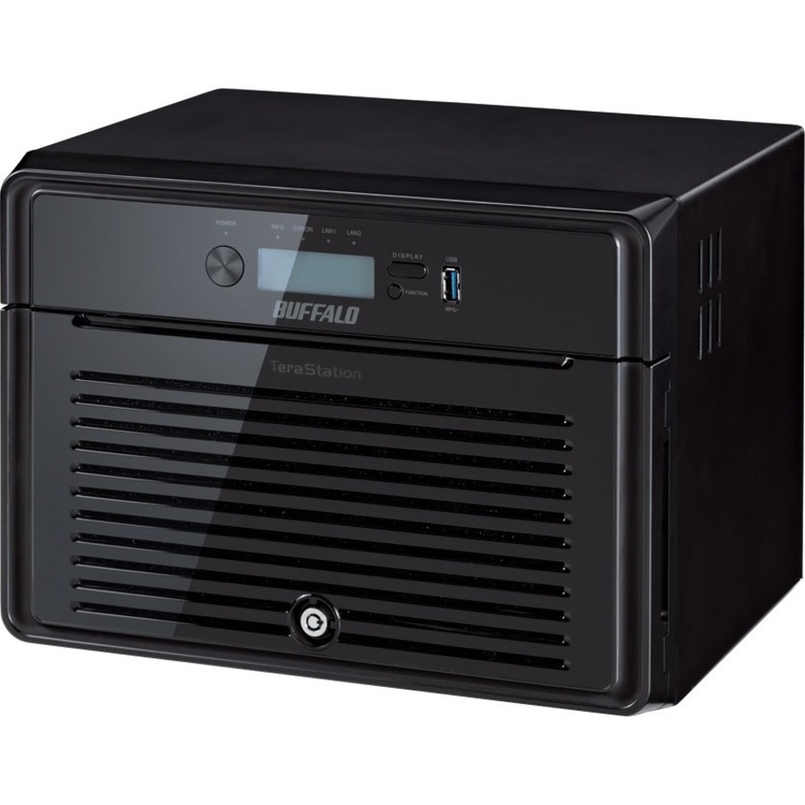 Buffalo TeraStation TS5800DWR 8 x Total Bays NAS Server - 1 x Intel Atom D2700 Dual-core 2 Core 2.13 GHz - 24 TB HDD - 2 GB RAM DDR3 SDRAM - Serial ATA/300 - RAID