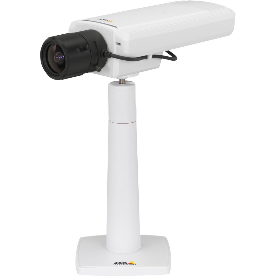 AXIS P1364-E Network Camera - Colour - H.264, Motion JPEG, MPEG-4 - 1280 x 720 - 2.80 mm - 8.50 mm - 3x Optical - CMOS - Cable - Wall Mount