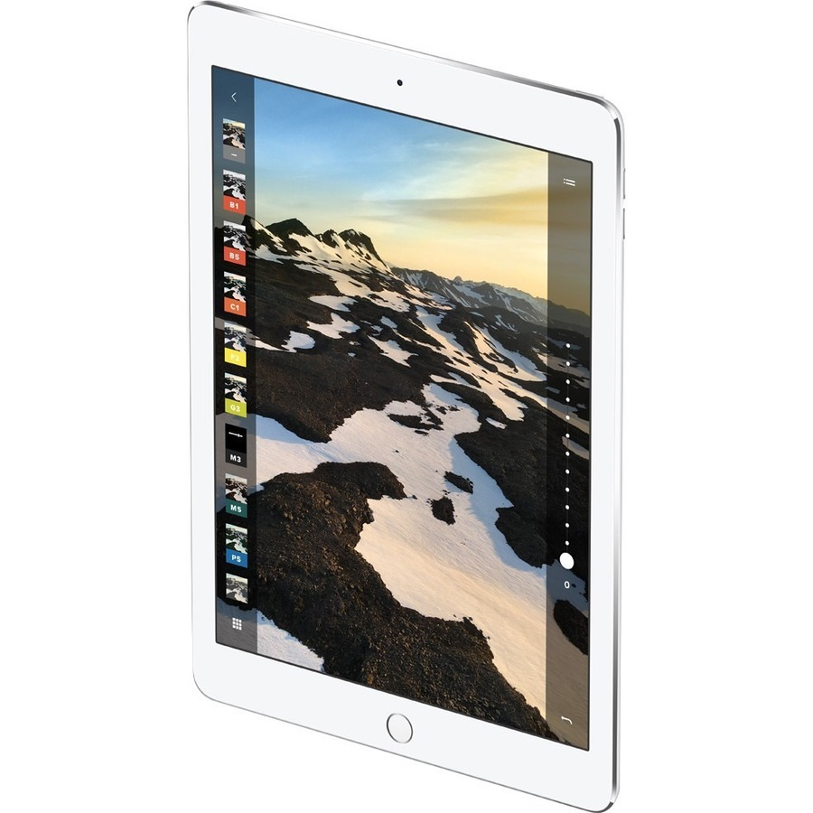 Apple iPad Pro Tablet - 32.8 cm 12.9inch - Apple A9X - iOS 9 - Retina Display - Wireless LAN - Bluetooth - Lightning - Digital Compass, Gyro Sensor, Accelerometer, Ba