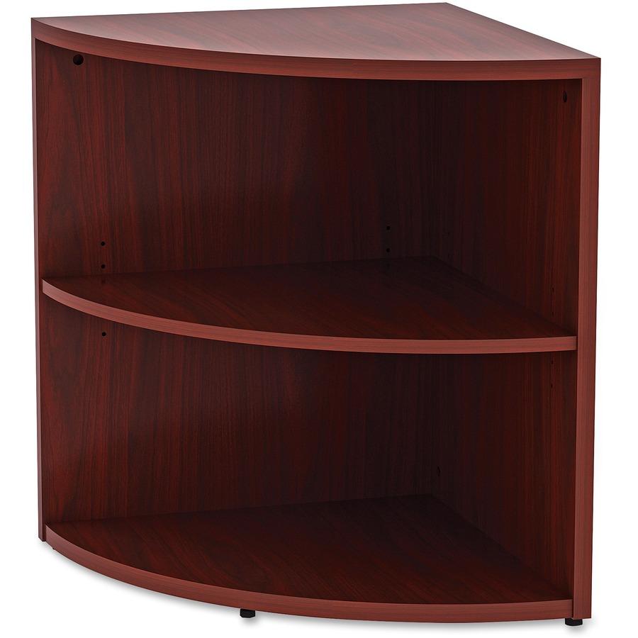 Lorell Essentials Series Mahogany Lam Desking Llr 69893
