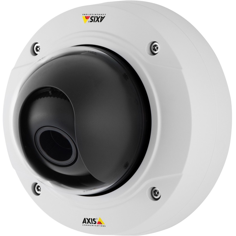 AXIS P3225-V MK II Network Camera - Colour - Motion JPEG, H.264 - 1920 x 1080 - 3 mm - 10.50 mm - 3.5x Optical - Cable - Dome - Wall Mount, Ceiling Mount