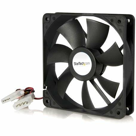 StarTech.com 120x25mm Dual Ball Bearing Computer Case Fan w/ LP4 Connector - 120 mm - 2000 rpm Ball Bearing