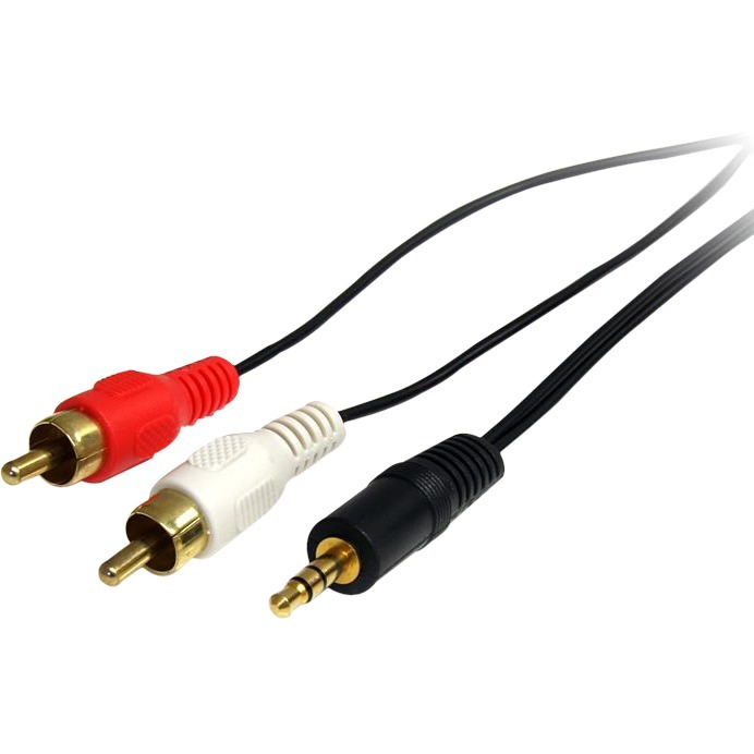 StarTech.com Stereo Audio cable - RCA M - mini-phone stereo 3.5 mm M - 0.91 m - for Audio Device