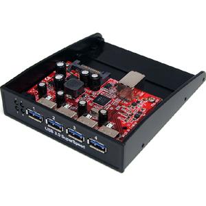 StarTech.com USB 3.0 Front Panel 4 Port Hub
