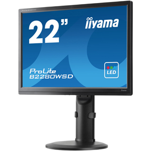 iiyama ProLite B2280WSD 55.9 cm 22inch LED LCD Monitor - 16:10 - 5 ms