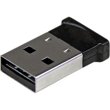 StarTech.com Mini USB Bluetooth 4.0 Adapter - 50m165ft Class 1 EDR Wireless Dongle