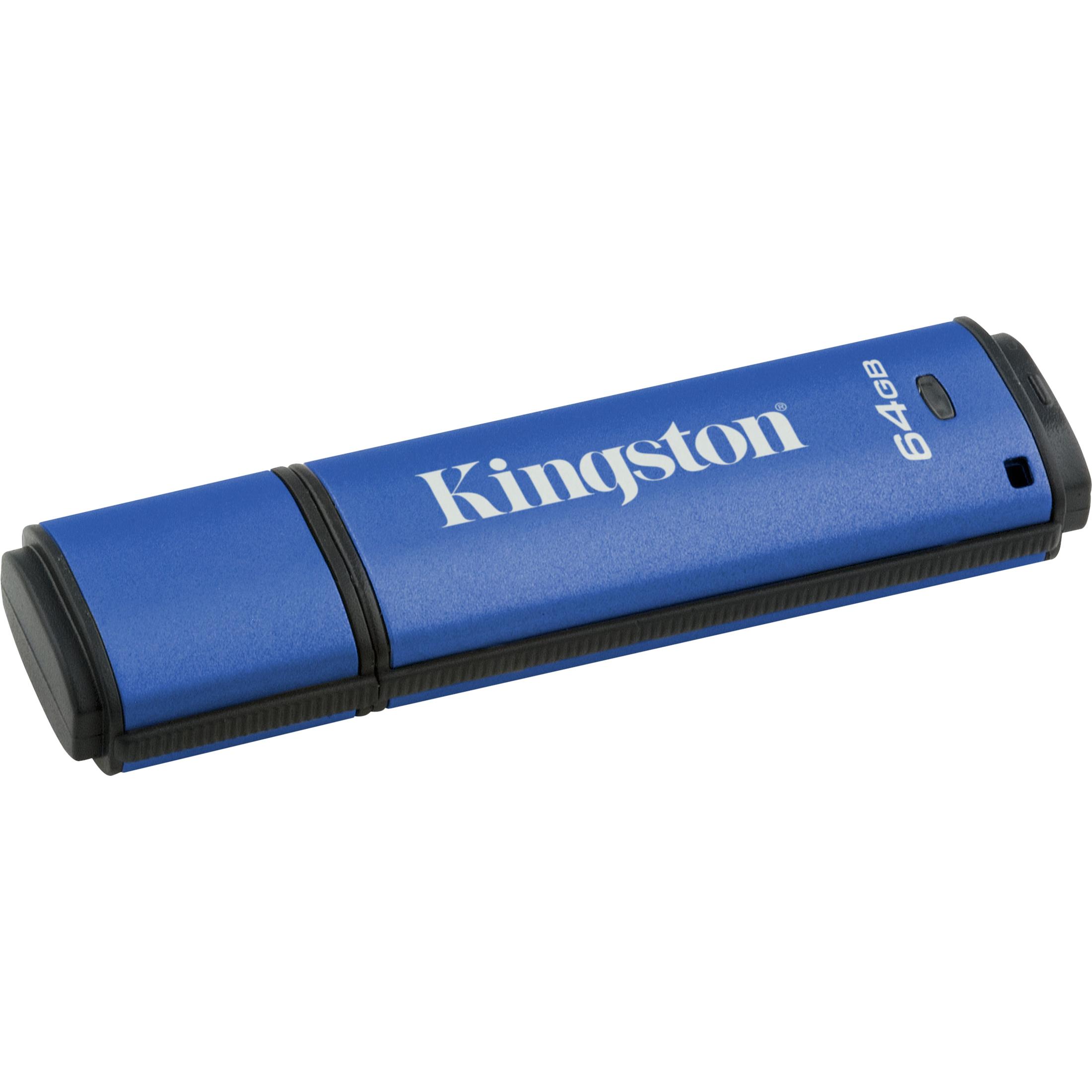 Kingston DataTraveler Vault 64 GB USB 3.0 Flash Drive
