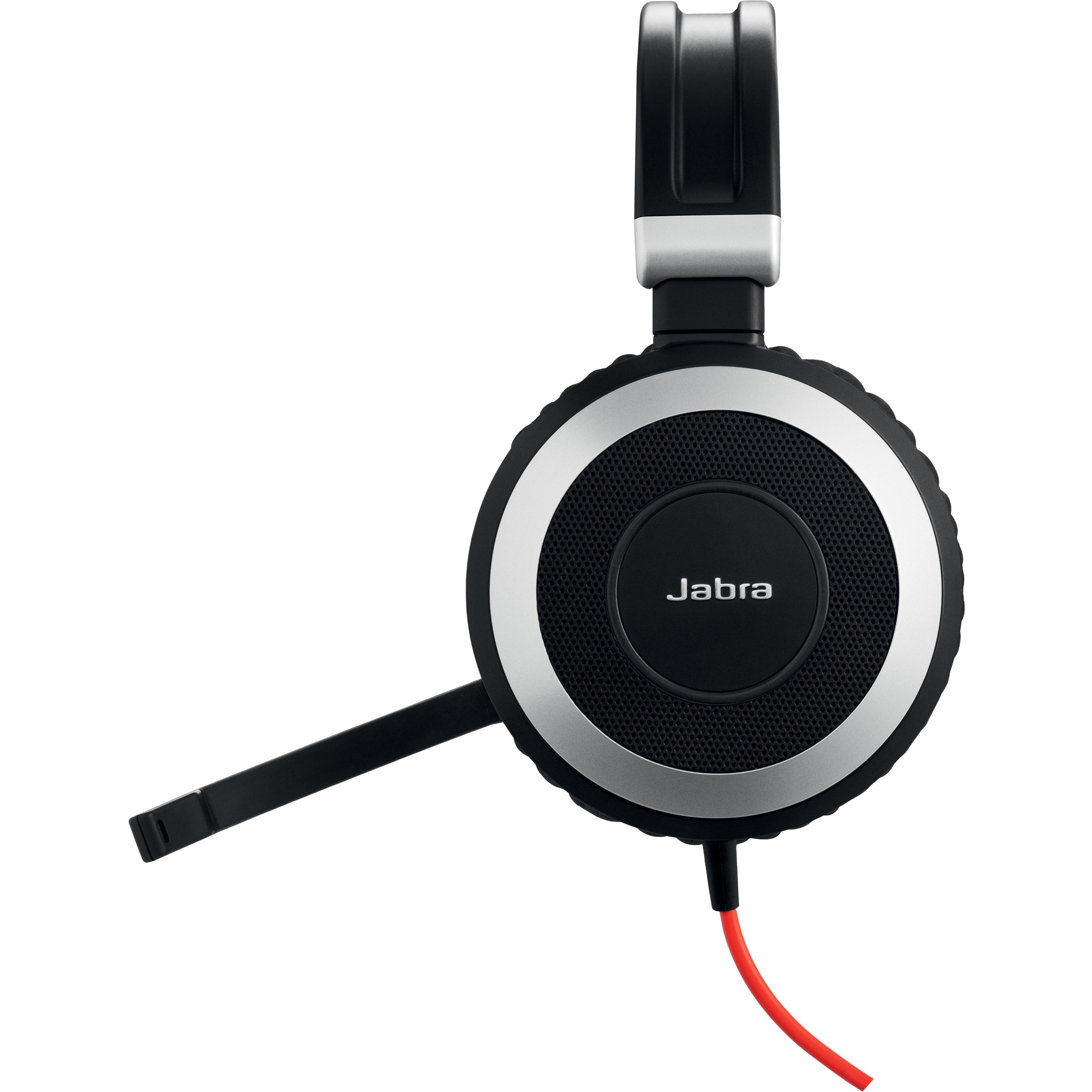 Jabra EVOLVE 80 Wired Stereo Headset - Over-the-head - Circumaural - USB, Mini-phone