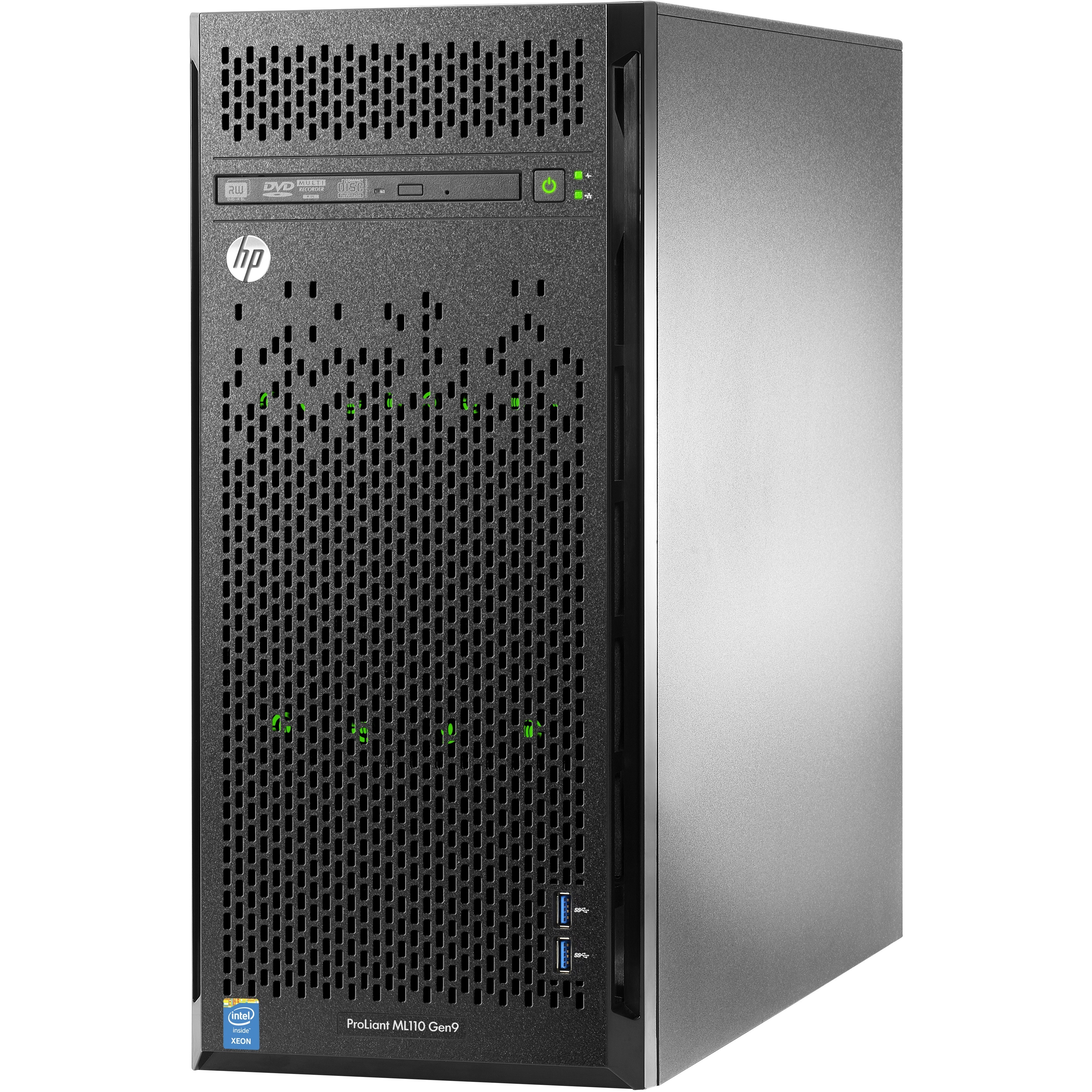 HP ProLiant ML110 G9 4.5U Tower Server - 1 x Intel Xeon E5-2603 v3 Hexa-core 6 Core 1.60 GHz