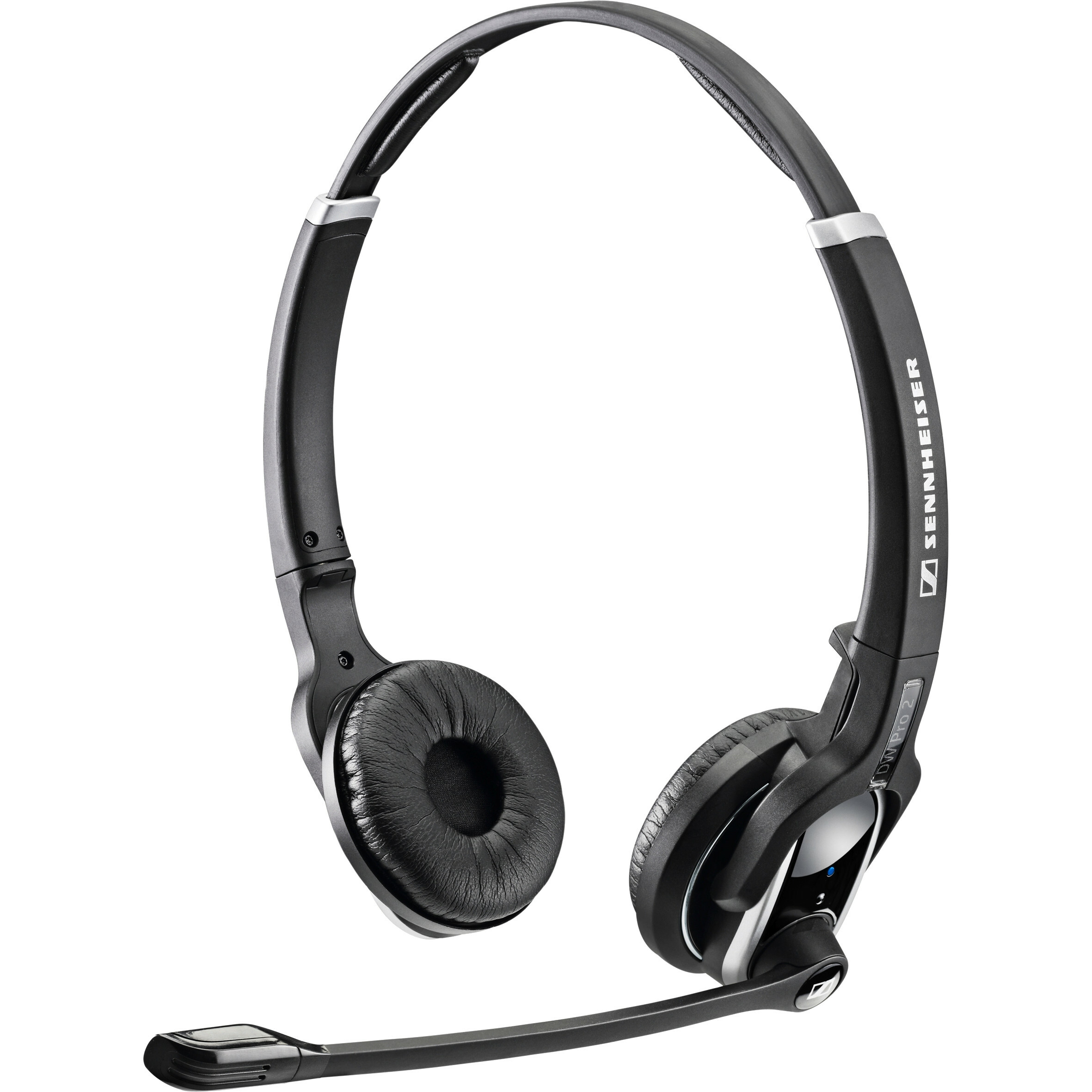Sennheiser DW Pro2 USB ML EU Wireless DECT 50 mm Stereo Headset - Over-the-head - Circumaural - Black - 180 m