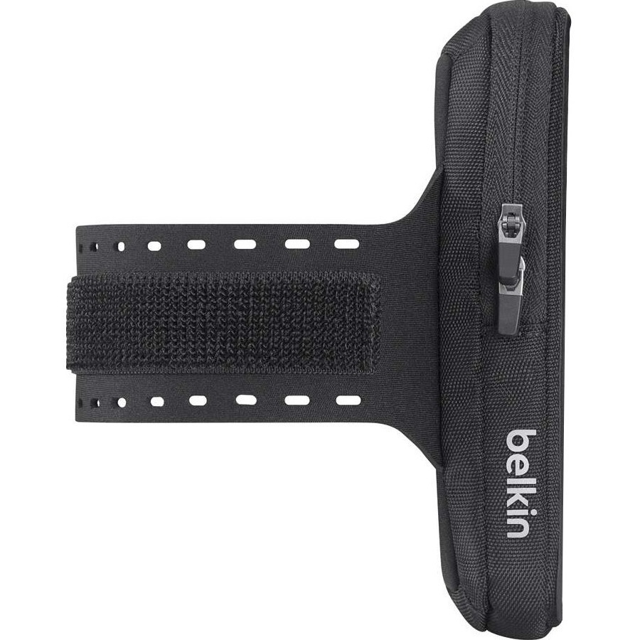 Belkin Storage Plus Carrying Case Armband for iPhone 6 Plus, iPhone 6S Plus - Black - Armband