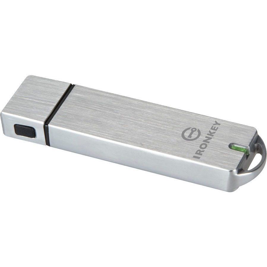 IronKey Basic S1000 4 GB USB 3.0 Flash Drive - 256-bit AES