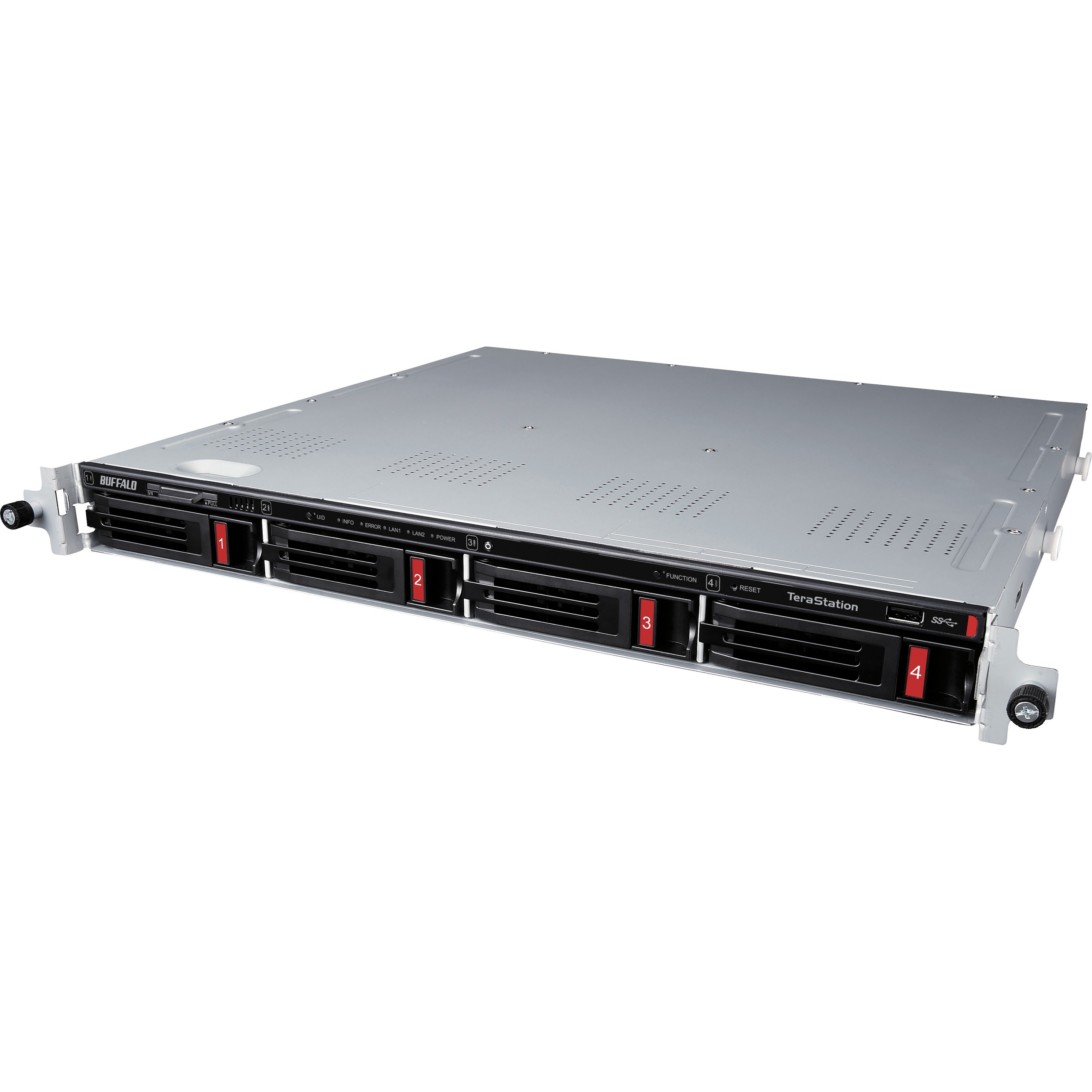 Buffalo TeraStation 3410RN 4 x Total Bays SAN/NAS Storage System - 1U - Rack-mountable