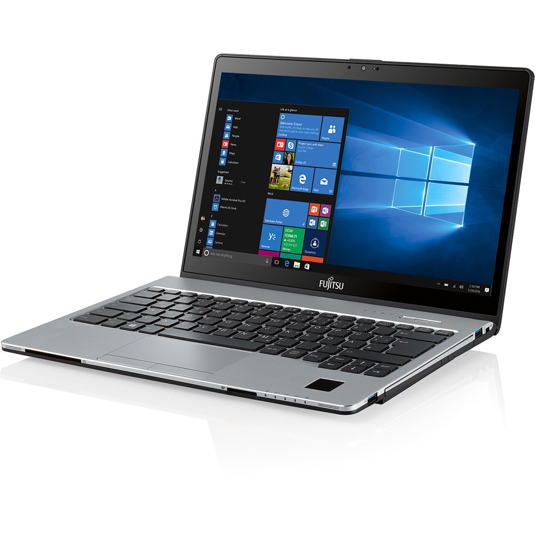 Fujitsu LIFEBOOK S937 33.8 cm 13.3inch Touchscreen LCD Notebook - Intel Core i5 7th Gen i5-7300U Dual-core 2 Core 2.60 GHz - 8 GB DDR4 SDRAM - 256 GB SSD - Window