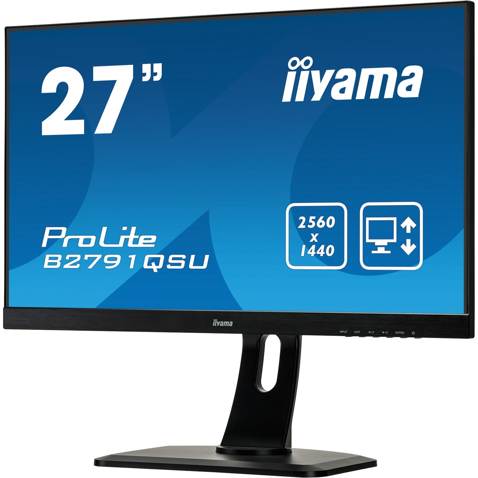 iiyama ProLite B2791QSU-B1 27inch LED LCD Monitor - 16:9 - 1 ms