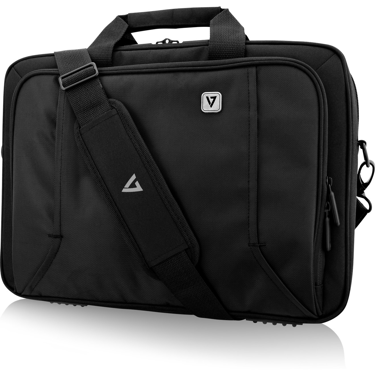 V7 PROFESSIONAL CTP16-BLK-9E Carrying Case for 39.6 cm 15.6inch Notebook - Black